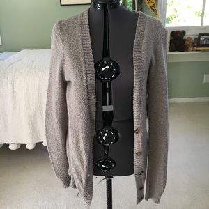 Light Grey Urban Outfitters Cardigan